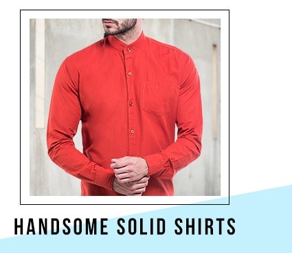 Handsome Solid Shirts