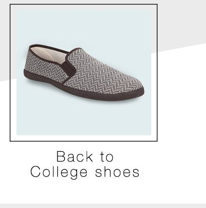 Back to College Shoes