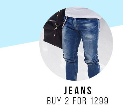 Jeans 2 for 1299