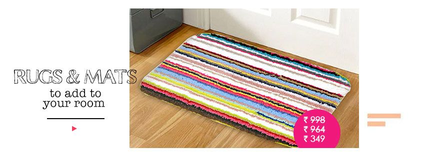rugs & mats to add to your room