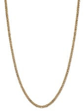 Golden Beads Long Necklace - Crunchy Fashion