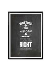 Framed motivational posters cheap