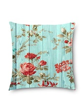 Multicolored Polyester Cushion Cover - By