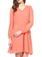 Bell Sleeves Dress - La Zoire
