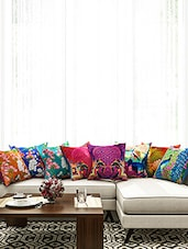 Printed Cotton Cushion Cover ( Set Of 8) - By