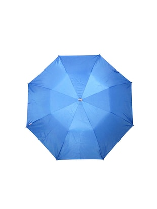blue polyester umbrella