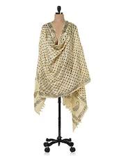 Kela Silk Black Block Print Dupatta - Inara Robes