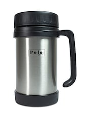 Black Stainless Steel Travel Mug - By