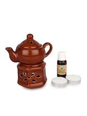 Red Ceramic Aroma Diffuser - By