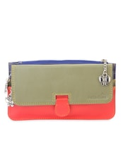 Tricolor Leatherette Wallet -  online shopping for Wallets & Card holders