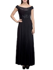 black polyester prom  and gowns dress -  online shopping for Dresses