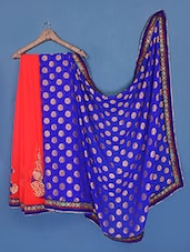 Brocade Pallu Viscose Saree - Manvaa