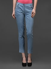 Light Blue Stretchable Denim - By