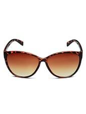 Yepme Wayfarer Sunglasses - Brown - By