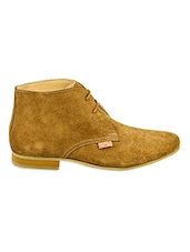 Brown Ankle Length Boots - Lee Cooper