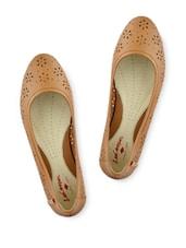 Brown Cutwork Formal Leather Slip On - Lee Cooper