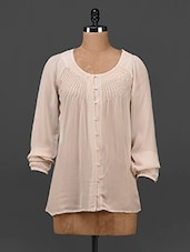 Round Neck Full Sleeves Top - Myaddiction