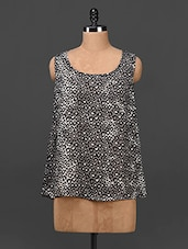 Animal Print Sleeveless Top - Myaddiction