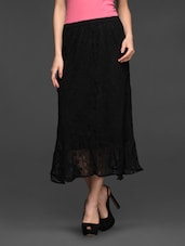 Cotton Lace Maxi Skirt - Studio West
