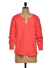 Round Neck Long Sleeves Top - Colbrii
