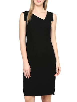 Avirate Black Dress