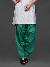 Plain Solid Cotton Patiala Salwar - SHREE - 1017341