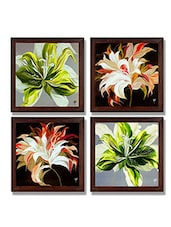 Ray Decor Wall Paintings Set Of 4 -SQSET521 - By