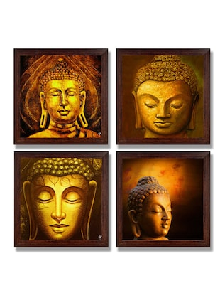 Ray Decor Wall Paintings Set of 4 -SQSET528 -  online shopping for Paintings