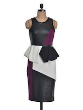 Chic Peplum Dress - FOREVER UNIQUE