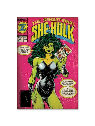 She hulk - comics poster (Officially Licensed)