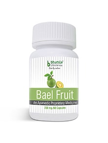 Bael Fruit Capsules 60's - Dysentery & Diarrhea, Colitis, Irritable Bowel Syndrome