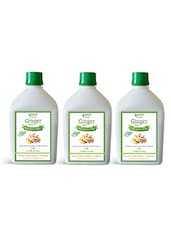 Ginger Juice (Sugar Free) 1 Ltr.(Pack Of Three) - By