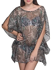 Printed Polyester Cover Up - Citypret