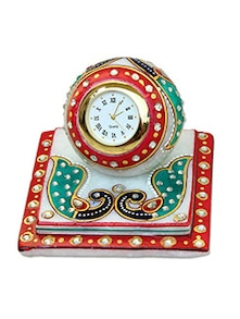 buy craft traditional rajasthani handicraft marble analog