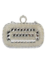 Swarovski Crystal Studded Clutch - Lord's