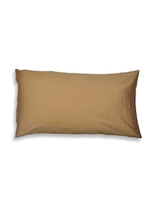 Dhrohar brown Cotton Handloom pillows and inserts