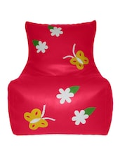 Pink Butterfly Large Bean Bag - CLASSIQUE