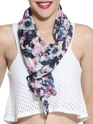 multi colored cotton scarf -  online shopping for Scarves