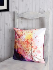 Printed Poly-velvet Cushion Cover - RAGO