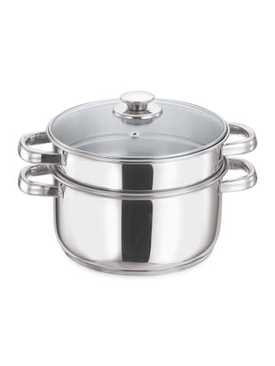 2 Tier Stainless Steel Steamer