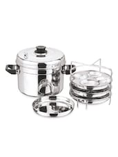 Stainless Steel Idle Maker - Vinod Cookware