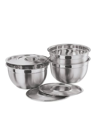 Stainless Steal Bowl Set with cover