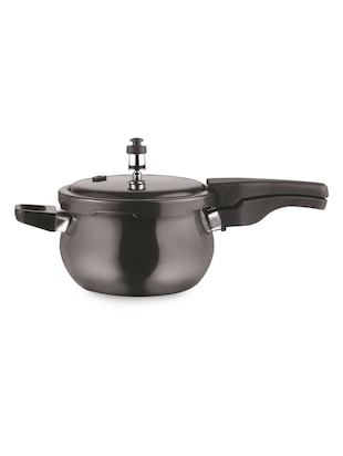 Hard Anodised Pressure Cooker with Induction bottom