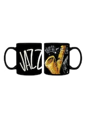 Jazz Music Digital Printed Ceramic Mug - Mugs N Mugs