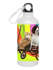 """Teddy With Dog"" Printed Sipper - Shopkeeda"