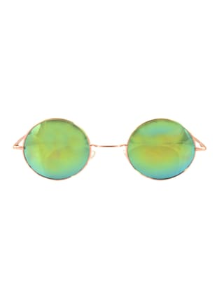 "Alpha Man ""American Rebel Original Multicolor"" Round Shape Sunglass"