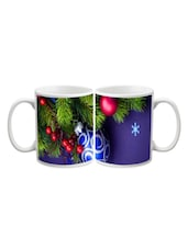 Colorful Christmas Ball Printed Mug - Start Ur Day