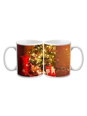 Gifts With Christmas Tree Printed Mug - Start Ur Day