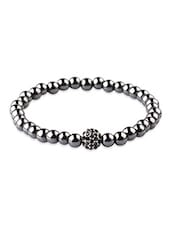 Nezaro Black Stainless Steel Bracelets - By