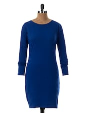 Round Neck Full Sleeve Bodycon Dress - Miss Chase